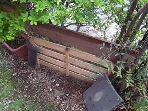 旧フェンス