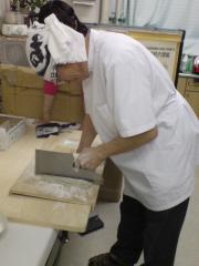 藤田先生蕎麦打ち4