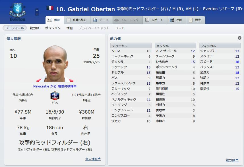 Gabriel Obertan (概要_ プロフィール)