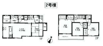 座間市相武台2丁目2号棟 3480万円新築戸建