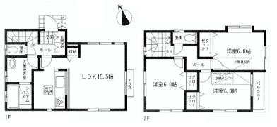 海老名市国分北1丁目 2980万円新築戸建