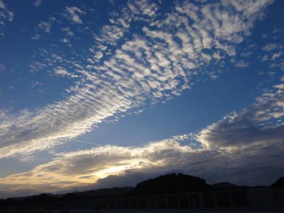 高速から雲