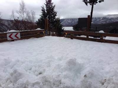 冬の九蔵峠展望台