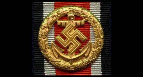 Ehrentafelspabge der Kriegsmarine