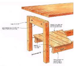 Wood Workshop Table Plans