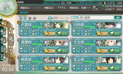 第2艦隊(初期)
