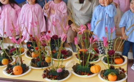 2幼稚園花