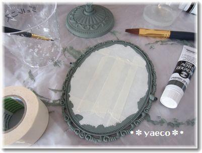 セリア 鏡リメイク2