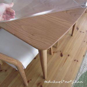 待望のダイニングテーブル3