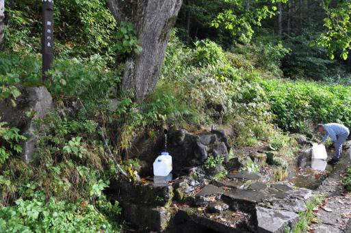 樹氷の泉2