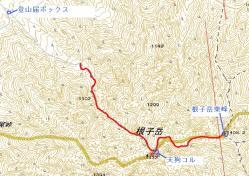 re根子岳地図(ヤカタガウド)