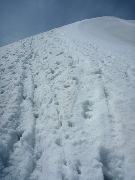 2440mピークへの急登