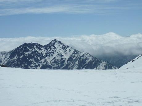 浄土山から針ノ木岳