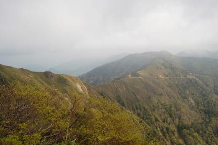 17日留賀岳から