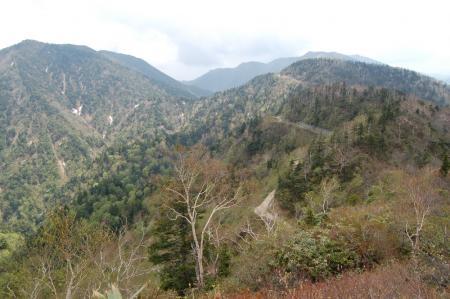 44男鹿岳への尾根