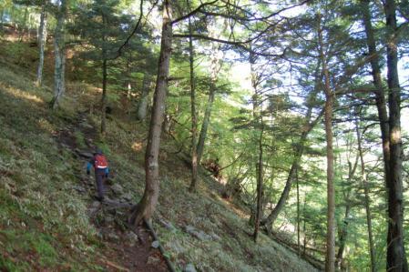 3高山への道
