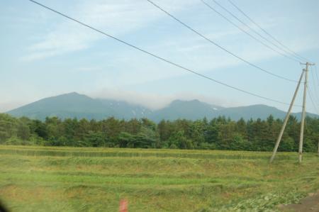 1蔵王連山