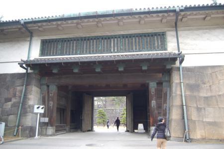 26皇居・桔梗門