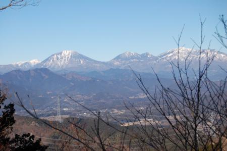 11東稜見晴らし台・日光連山