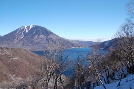 11社山への尾根から