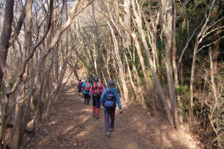 27ハイキング道