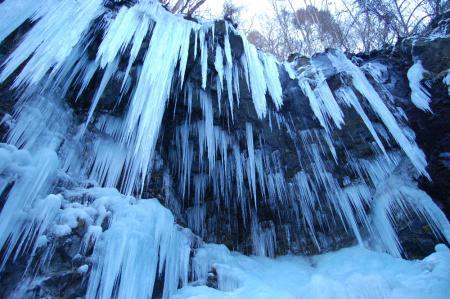 20氷柱群
