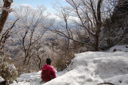 26女体山から下山