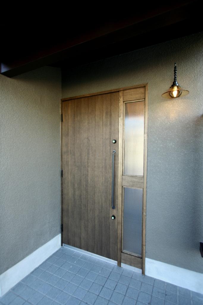 入居前完成写真玄関1