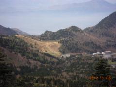 冬枯れ 山