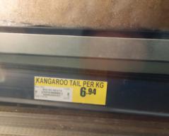 カンガルー肉 s