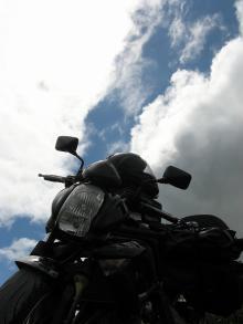 雲の切れ目