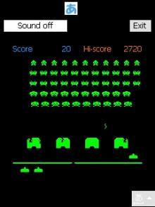 とまの気ままな日記-Space Invaders