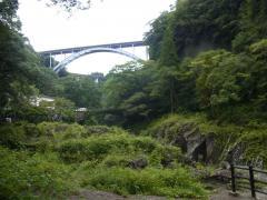 高千穂峡 3連橋綺麗です