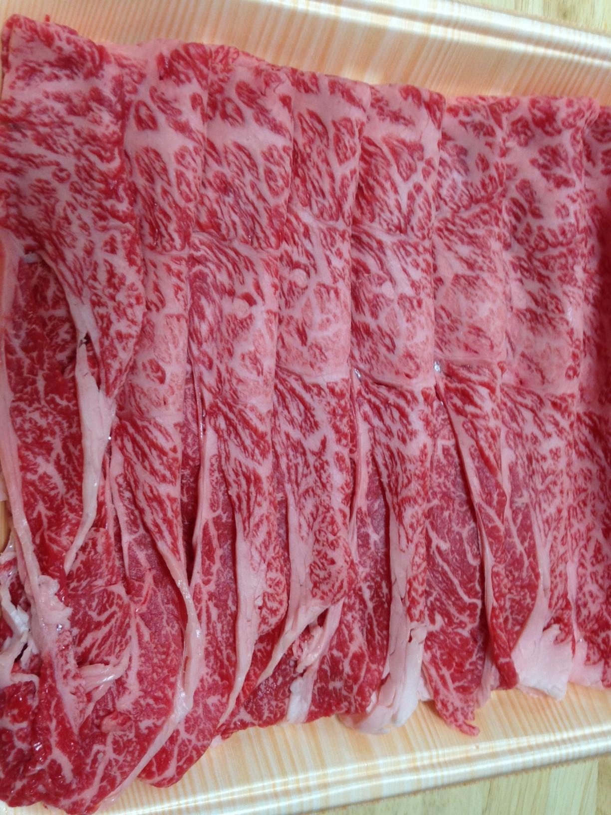2013年すき焼き肉