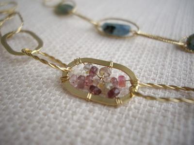 multi spinel bracelet