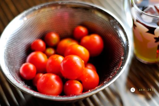 お父さんのトマト