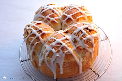 メープル粒ジャムのパン