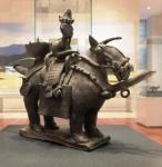 騎馬人物形土器(実物)