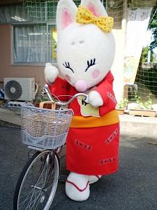 ゆう子自転車