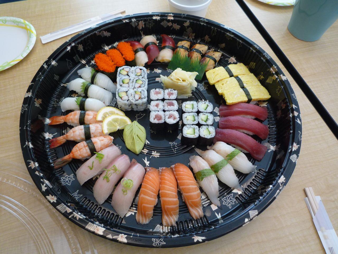 ひなた寿司プラター