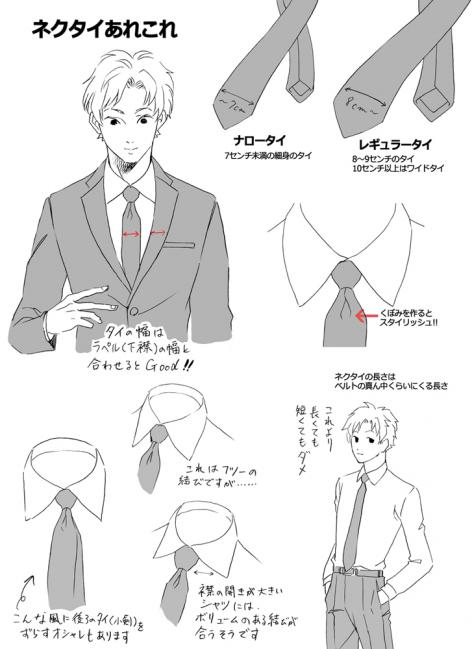 ネクタイあれこれ