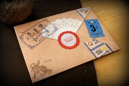 コラージュ封筒 (4)