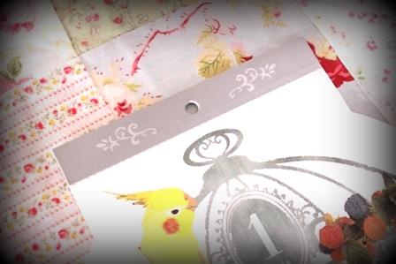 seriaの鳥かごカレンダー 2014