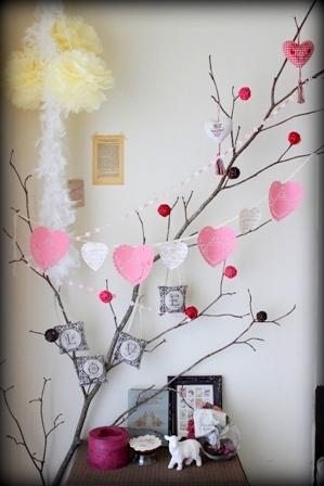 バレンタインディスプレイ 2014