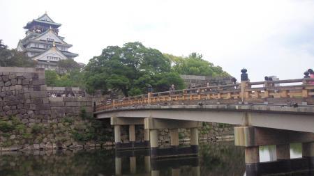 大阪城 遠景