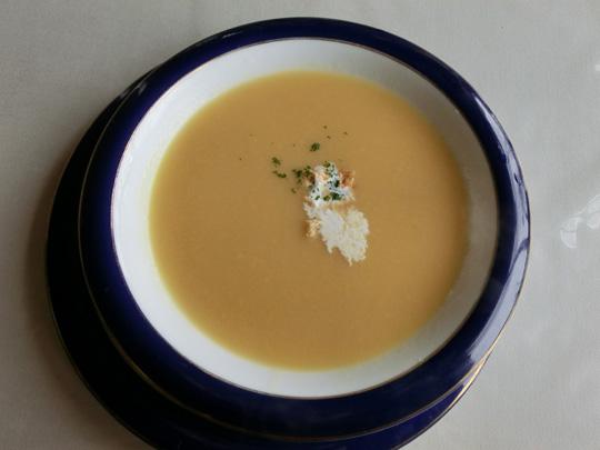 ライスにスープも付いたり