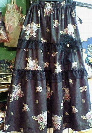 薔薇のスカート2