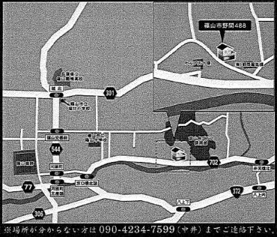 m様邸 地図