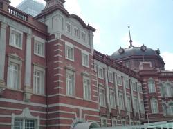 東京駅南口方面