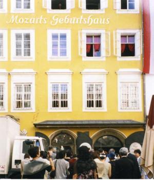 ウィーンにあるモーツァルトの生家
